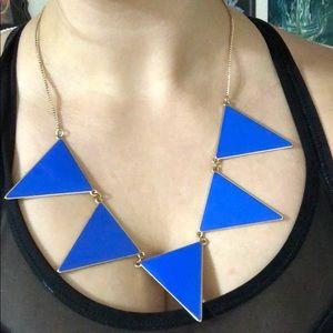 Jewelry - ✨ FREE W BUNDLE Statement blue triangle necklace